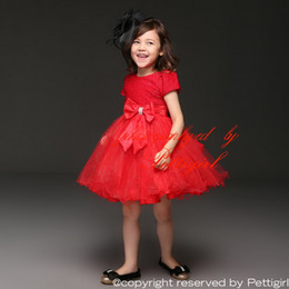 Wholesale Girls Formal Wear Wholesale - Pettigirl 2016 Hot Selling Girls Party Dresses With Bow Princess Summer Dress Kids Formal Party Wear Wholesale Cheap GD11116-01R