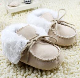 Wholesale Cheap Toddlers Boots - Lapel baby boots baby shoes,warm children shoes,non-slip winter toddler shoes,soft kids shoes,cheap snow boots,walker shoes!6pairs 12pcs.C