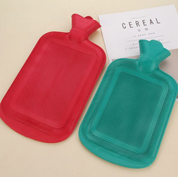 Wholesale Rubber Hot Water Bottles - HOT Home hick Rubber Hot Cold Water Bottle Bag Warmer Relaxing Heat Therapy Cheapness MYY