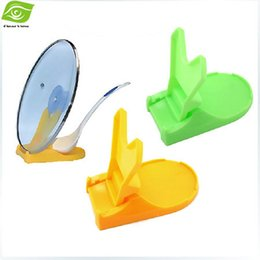 Wholesale Disposable Plastic Spoons - Kitchen Necessary Multi Function Folding Cookware Cover Stand Pan Pot Cover Lid Holder Spoon Stand Holder, dandys