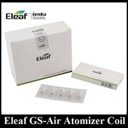 Wholesale Core Air - Authentic Eleaf GS-Air TC Coil 0.15 0.75ohm 1.2 1.5ohm Replacement Coil Core for Eleaf GS Air Mega GS TC Tank