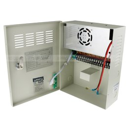 Wholesale 18ch 12v Power Supply - 18CH Security DC 12V 20A Output Power Supply Switch Box for CCTV