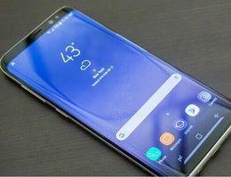 Wholesale digital grey card - Goophone S8 plus S8+ edge Quad Core 4G LTE Show MTK6580 4GB+64GB 1280*1920 Pixels 5.8 inch QHD IPS Screen 13.0MP With Finger Print