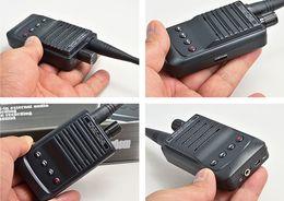 Wholesale Spy Audio Transmitters - CW04 Wireless Audio Receiver Transmitter Transmitter-receive pickup Mic Sound Voice Recorder Spy bug with Long Range 1500M