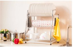 Wholesale Dish Rack Layers - Layer 3 dish rack large bowl of waterlogging caused by excessive rainfall aircraft bigger sizes plate rack dish plate cupboard 058