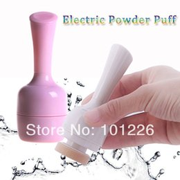 Wholesale Artist 3d - Electric Powder Puff 3D Tilting Vibrating Foundation Applicator Artist Auto Pat High Quality Free Shipping