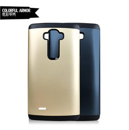 Wholesale Google Phone G4 - New colorful Armor hard case shell for LG G4 G3 Flex 2 Asus Zenfone 5 6 Google 5 6 PC&TPU 2 in 1 rubber tough phone cover