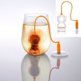 Wholesale Cheap Coffee Wholesale - Cheap Deep Coffee Tea Infusers Makers Diver Loose Leaf Strainer Bag Mug Filter Kitchen Free Shipping