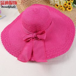 Wholesale Strawhat Fedoras - Wholesale-2016 New free shipping hat fashion women hats fedoras strawhat new arrival strawhat Good Quality