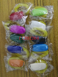Wholesale Click Free - 10pcs lot Free Shipping wholesale Fashion Dog Pet Click Clicker Training Trainer Aid Wrist Mix colors