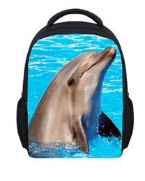 Wholesale Backpack Zoo School Bag - uggage Bags Backpacks New Crazy Horse Priting Backpack For School Kids Small Zoo Animal Zoo Backpack Boys Children Kindergarten Bag Mochi...