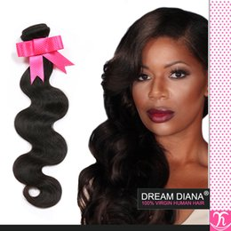Wholesale Discount Virgin Hair - Grace Hair Brazilian Body Wave 4bundles Natural 1B Discount Brazilian Hair Grade 6a Brazillian Unprocessed Virgin Hair Wholesale