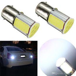 Canada 2pcs lumière de voiture COB LED ampoule 1156 BA15S P21W auto lampe de frein de voiture Parking Stop Tail Turn Light Ampoules Offre