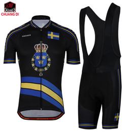 Jersey de ciclismo Camisa cómoda para bicicleta / bicicleta Suecia Ropa negra de ciclismo Ciclismo Ciclismo Ropa Bib shorts desde fabricantes