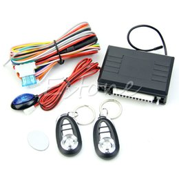 Wholesale Order Keyless Entry Remote - Free Shipping Universal Car Remote Central Kit Door Lock Locking Vehicle Keyless Entry System order<$18no track