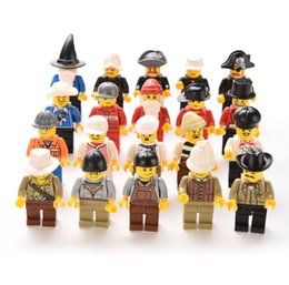 bolsa de regalo al azar Rebajas 20 Unids Multi-Color de Acción de Juguete Figura Hombres Gente Minifigs Agarrar bolsa de regalo Random Plastic Niños Niños Niños Juguetes