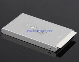 Wholesale Sliding Business Card Holder - Pocket Automatic Slide Office Business Name ID Credit Card Holder Case