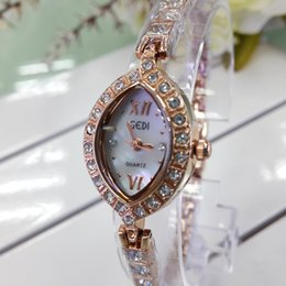 Wholesale Wholesale Gold Watches China - New Fashion Hot Luxury Wristatches Artificial Gem gift Unique Rhinestone Diamond Designer Women Quartz watches Cheap China watches