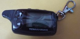 Wholesale Tomahawk Alarm - 2014 Free Shipping LCD Remote for Tomahawk TW9010 two way car alarm system