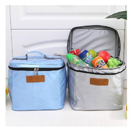 Wholesale Meal Package - Wholesale-2015 Real Bags For Lunches New High Quality 15l Oxford Cloth Large Meal Package Lunch Cold Storage Take-away Bag Ice Pack