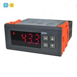 Wholesale humidistat controls - Freeshipping 220V Digital Air Humidity Control Controller Hygrometer and Hygrostat Humidistat