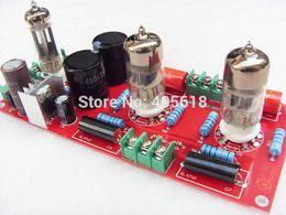 Wholesale Audio Amplifier Tubes - Buffer 6N3+6Z4 Tube SRPP Preamplifier Amplifier board Pre-amp Audio Version 2.0 free shipping Amplifier Cheap Amplifier