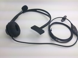 Scheitelkopfhörer online-Overhead Ohrhörer Headset Boom Mic Mikrofon Noise Cancelling für Yaesu Vertex Radio 1pin 3,5 mm