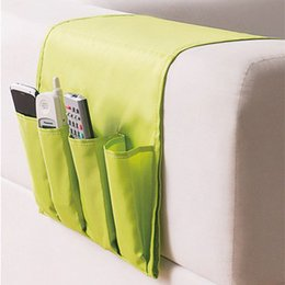Wholesale Fabric Sofas Sets - Wholesale- SNB079 Sofa Hanging bag organizer Bedside Deskside Storage bags Basket Home phone cases Receive Accessories Supplies Products
