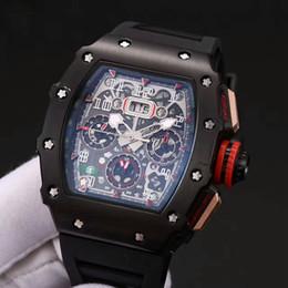 2019 Factory Outlet Новый продукт 3A Часы качества 011 Натуральный каучуковый ремешок мужские часы из нержавеющей стали XTC Автоматические мужские часы от