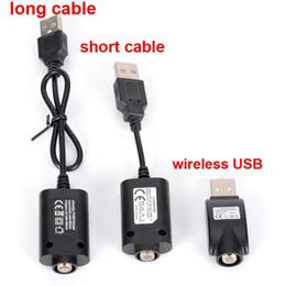 Wholesale Type Ego Battery - Three types 510 USB Charger Cable Cord Adapter EGO Battery Charger Ego Compatible ECig Vaporizer Vape Pen USB charger Universal 510 Thread