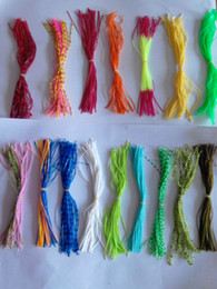 Wholesale Big Lures - lure making jig head octopus silicone skirt lure make yourself lure accessories