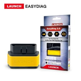 Wholesale Obd2 16 - LAUNCH Direct Store X431 EasyDiag 2.0 OBD2 Code Reader Easy Diag 2.0 With Bluetooth Support All Cars With 16-pin OBD Port