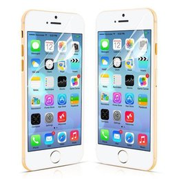 Wholesale Iphone Lcd Screen Protectors - For Iphone X 8plus Clear LCD Screen Protector Guard Cover Film For iphone 6 Plus Samsung S6 S7 S8 Plus (1000pcs Film+1000pcs Cloth)