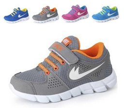 Wholesale Sneaker Shoes Brand - Kids Sneakers New Style Brand Children shoes boys sneakers girls running shoes Size 25-37 child leisure trainers breathable kids shoes