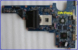 Wholesale G6 Mainboard - Wholesale-100% working for HP pavilion G4 G6 G7 laptop motherboard 650199-001 Mainboard