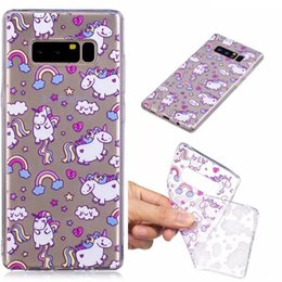 Wholesale Yellow Bear Cases - Alpaca Koala horse Bear Sea lions Panda Deer case Cover For Samsung Galaxy S8 Plus Note8 J7 J5 Prime A3 A5 2017 IMD Clear TPU Silicone cases