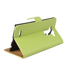 Wholesale Lg Nexus Screen - GENUINE Wallet Credit Card Stand Leather Case For LG G2 G3 D855 G4 H818 G5 K7 K8 X Screen Zero H740 Nexus 5x G4 Pro E960 E980 100PCS LOT