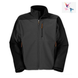 Wholesale Green Softshell - 018 new style Winter Hot Sale Mens Denali Apex Bionic Jackets Outdoor Casual SoftShell Warm Waterproof Windproof Breathable Ski Coat rd