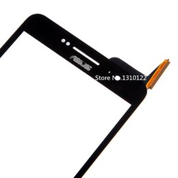 Wholesale Glass Digitizer Replacement Asus - Wholesale-Touch Screen glass Digitizer capacitive touchscreen Replacement for Asus Zenfone 6 A600CG - Black - With Logo (+free DIY tools)