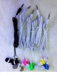 Wholesale low cost wholesale gifts - Wholesale Disposable earphones headphones low cost earbuds for Theatre Museum School library,hotel,hospital Gift,and for phone