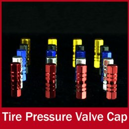Wholesale Wholesale Truck Tires Free Shipping - Free Shipping Universal Tire Tyre Wheel Round Ventil Valve Stems Cap For Auto Car Truck Red Blue Black Silver Gold