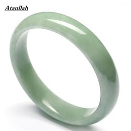 Wholesale High Quality Jade Jewelry - Ataullah Women Bangles Wholesale High Quality Stone Natural Jade Bracelets & Cuff for Women Engagement Fine Jewelry BSW451