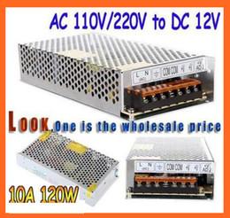 Wholesale Switching Power Supply 15a - High Quality LED switching power supply LED power supply 12V 10A   15A  5A 3.2A 150W  180w 60w 40w transformer 100-240V free shipping