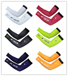 Wholesale Cycling Cycle Arm Warmer - Wholesale-2015 New 6 colors Bike MTB Cycling Arm Warmer Cycl Oversleeve UV Protection Manguito bike sports Riding Arm Sleeve