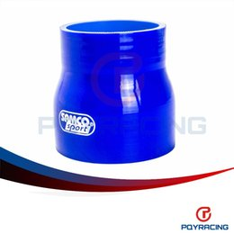 """Wholesale Silicone 76mm - PQY STORE-BLUE 2.5""""-3"""" 64mm-76mm SILICONE HOSE STRAIGHT REDUCER JOINER COUPLING PQY-SH25030"""