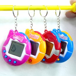 Wholesale Toy Electronic Pets - Hot Tamagotchi Electronic Pets Toys 90S Nostalgic 49 Pets in One Virtual Cyber Pet Toy Funny Tamagochi