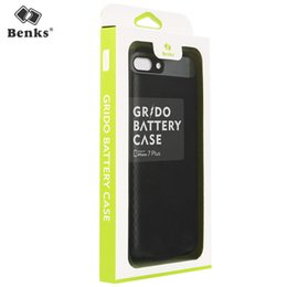 Wholesale Iphone Rechargeable Battery Case - Ultra Portable Mobile Phone Case Power Bank Durable and Easy Grip Thin Slim Back Clip Cover Rechargeable External Battery for iPhone 7 plus