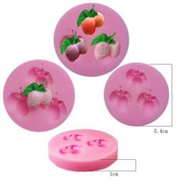 Velas de molde de azúcar online-Jabón molde 3D, moldes de velas de fondant, herramientas de artesanía de azúcar, jabón de silicona, fondant de molde de chocolate, formas de silicona para jabón TY1758