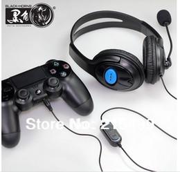 Al por mayor-Auriculares para PS4 negro con bonificación de 2 piezas de cubierta analógica de silicona de buen diseño desde fabricantes