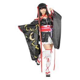 Wholesale Doll Import - Milica Books Japanese Anime Yaya Unbreakable Machine-doll Kimono Cosplay Costume - The Deluxe Original Version Japan Import